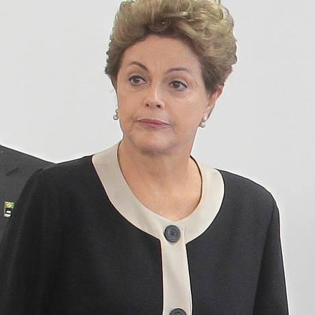 A presidente Dilma Rousseff Foto: Jorge William / Agência O Globo
