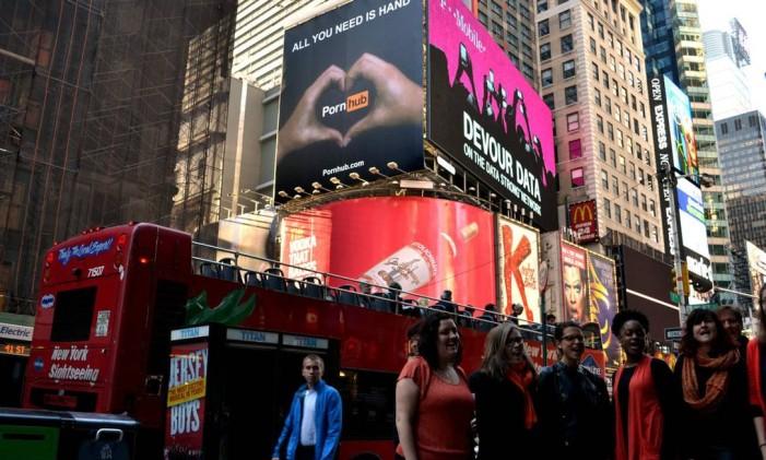 Times Square, em Nova York Foto: Divulgação