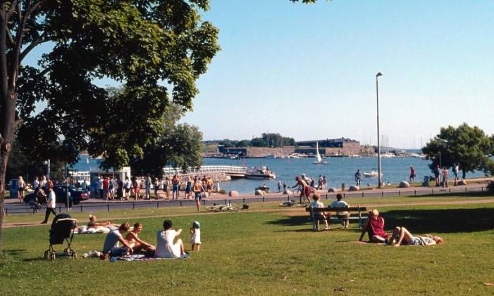 Helsinque, na Finlândia Foto: Divulgação