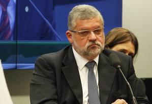 Ex-presidente da Sete Brasil João Carlos Ferraz ficou em silêncio Foto: Givaldo Barbosa / Agência O Globo