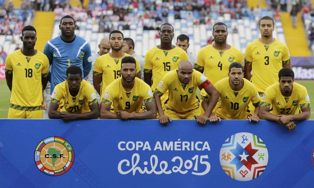O time jamaicano posa antes de a bola rolar JORGE ADORNO / REUTERS