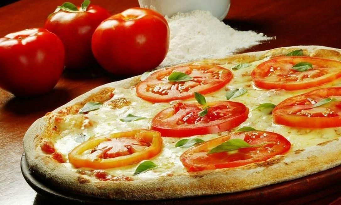 Pizza congelada contém gordura trans Foto: Divulgação/Berg Silva