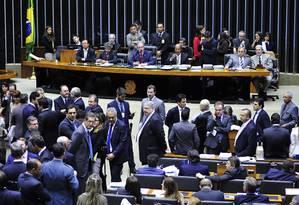 Sessão na Câmara dos Deputados Foto: Luis Macedo / Agência Câmara