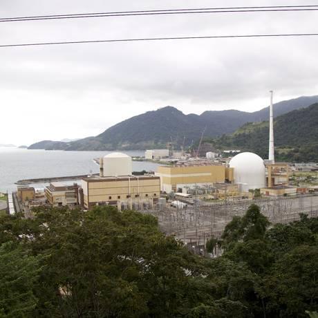 Usinas nucleares de Angra Foto: Márcia Foletto / Agência O Globo