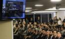 Convidados acompanham a sessão do TCU sobre as contas de Dilma Foto: Givaldo Barbosa / Agência O Globo