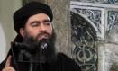 O líder do Estado Islâmico, Abu Bakr al-Baghdadi, usa o antigo exército de Saddam para expandir seu poder e território Foto: Uncredited / AP