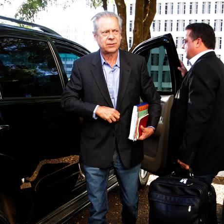 O ex-ministro José Dirceu Foto: Ailton de Freitas/3-7-2014