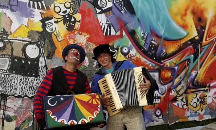 Partipantes do Festival de Inverno do Sesc, em Teresópolis Foto: Hudson Pontes / Agência O Globo