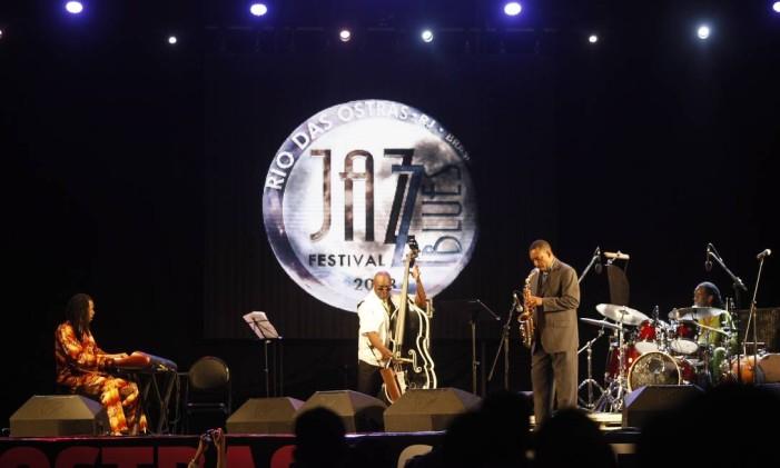Festival de Jazz e Blues em Rio das Ostras é considerado o maior da América Latina Foto: Eduardo Naddar / Agência O Globo