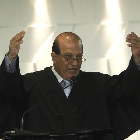 Augusto Nardes, Ministro do Tribunal de Contas da União (TCU) , relator das contas de 2014 da presidente Dilma Rousseff Foto: Givaldo Barbosa / Agência O Globo