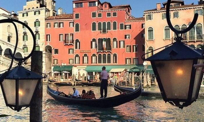 Veneza, na Itália. Foto: Reprodução / Reprodução/Instagram