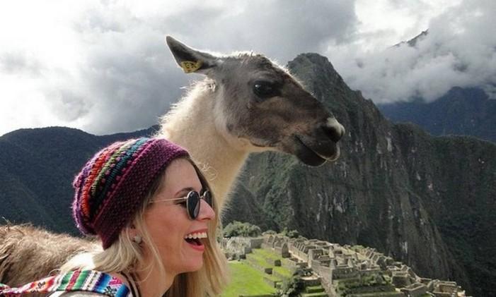 Machu Picchu, no Peru. Foto: @stheontheroad / Reprodução/Instagram