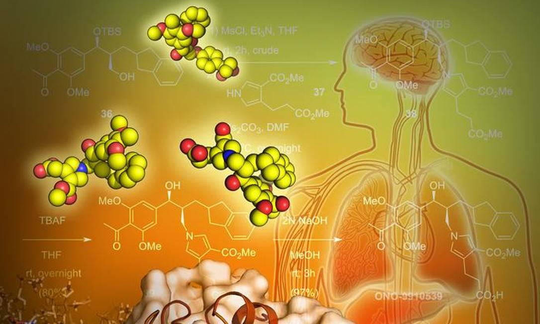 Nova pesquisa revela a estrutura 3D de um receptor para o LPA1, uma proteína implicada em várias doenças no cérebro Foto: / Yekaterina Kadyshevskaya/USC