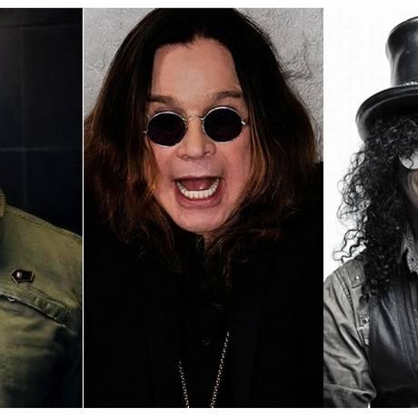 Tom Morello e Slash vão tocar na banda de Ozzy Osbourne em festival em Nova Orleans Foto: Divulgação