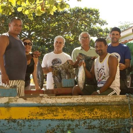 Marejada. Pescadores tradicionais de Itaipu apostam no evento como forma de reforçar a identidade local Foto: Agência O Globo / Bia Guedes