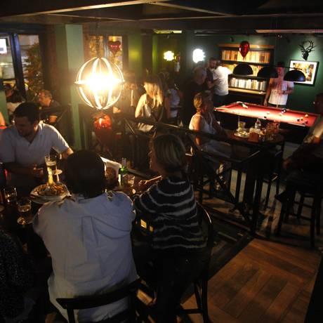 Brooks Pub é um forasteiro muito bem recebido pelo público local Foto: Pedro Teixeira