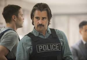 Colin Farrell é detetive que recebe dinheiro da máfia Foto: Lacey Terrell/HBO/Divulgação