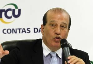 O ministro do Tribunal de Contas da União (TCU) Augusto Nardes Foto: Givaldo Barbosa / Arquivo O Globo