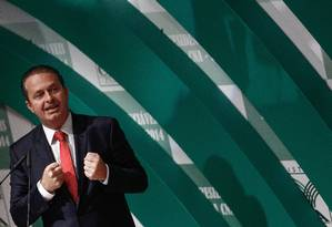 Eduardo Campos morreu em agosto do ano passado num acidente de avião Foto: ANDRE COELHO (06/08/2014) / Agência O Globo