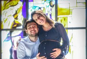 Leandro Nakajima terá cinco dias a mais para ficar com a esposa e o bebê Foto: ANDRE COELHO / Agência O Globo