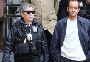 Newton Ishii foi preso em flagrante 2003, por contrabandear prosutos do Paraguai Foto: Geraldo Bubniak / Agência O Globo
