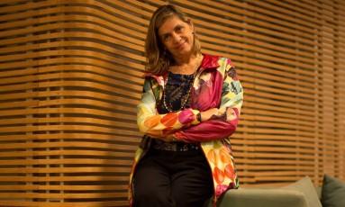 SC Rio de Janeiro (RJ) 17/06/2015 - Retrato de Carla Camurati, diretora do programa de Cultura da Rio 2016. Foto: Daniel Marenco / Agencia O Globo Foto: Daniel Marenco / Agência O Globo