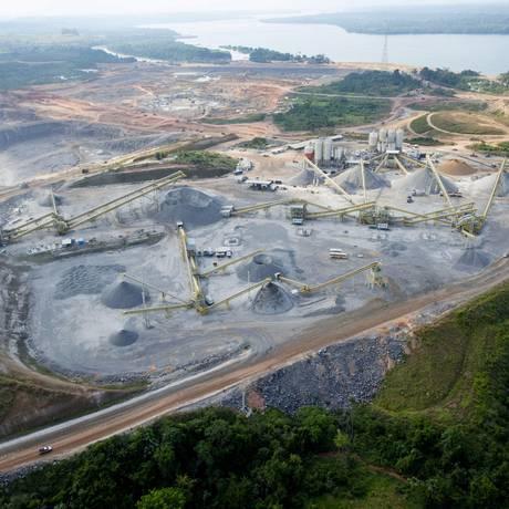 Belo Monte. No mês passado, sete operários foram vítimas de acidente de trabalho na usina, quatro morreram Foto: Regina Santos/divulgação/14-5-2013