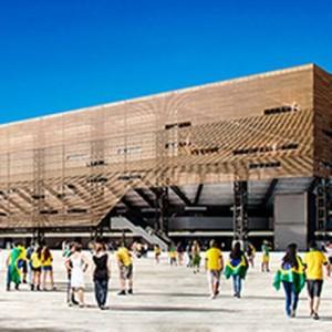 Ferramenta do GLOBO mostra como estão as obras nas arenas da Rio-2016 Foto: Divulgação