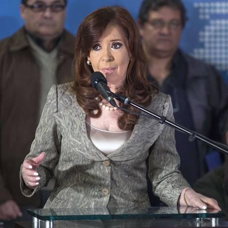 A presidente Cristina Kirchner está nos últimos meses de seu segundo mandato Foto: DAMIAN DOPACIO / AFP