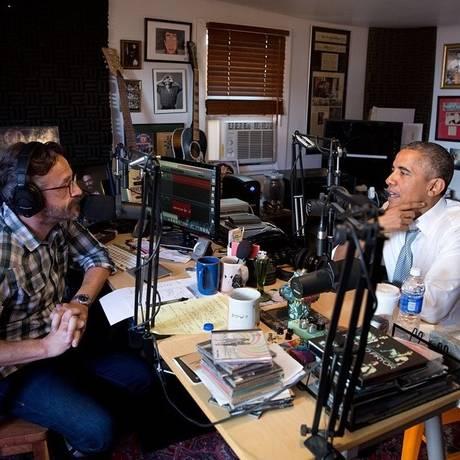 Obama falou sobre massacre de Charleston em entrevista para o comediante Marc Maron