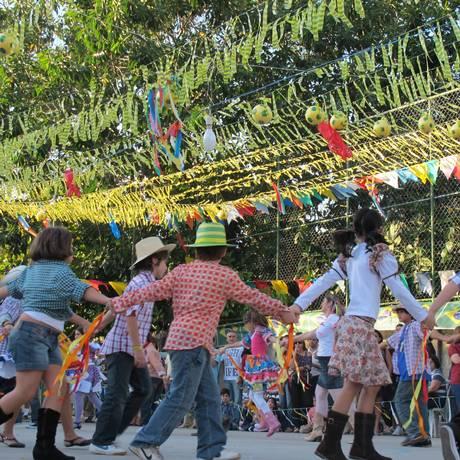 Festa junina no colégio Notre-Dame Recreio Foto: Divulgação