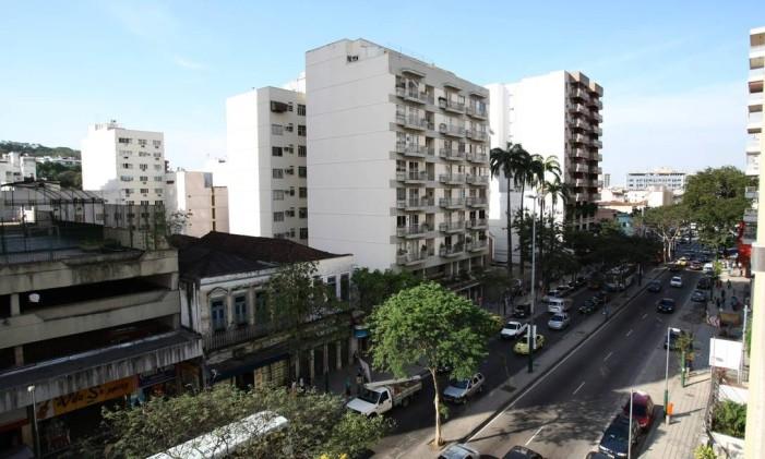 O Boulevard Vinte e Oito de Setembro é a principal via de Vila Isabel Foto: Márcio Alves / Agência O Globo (14/09/2010)