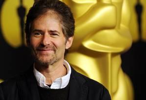 O compositor na cerimônia do Oscar em 2010 Foto: GABRIEL BOUYS / AFP