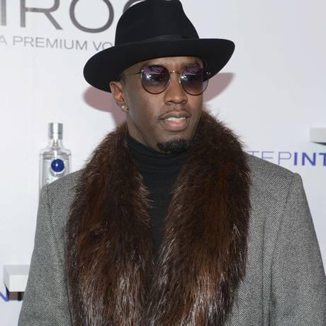 O rapper Diddy em novembro de 2014 Foto: Michael N. Todaro / AFP