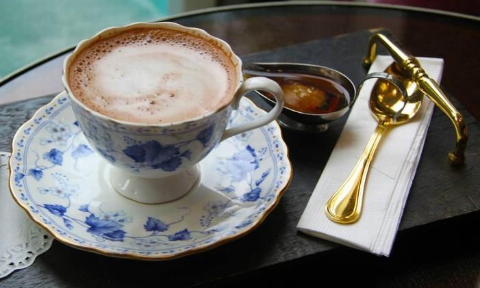 Chocolate quente Foto: Reprodução/Pixabay