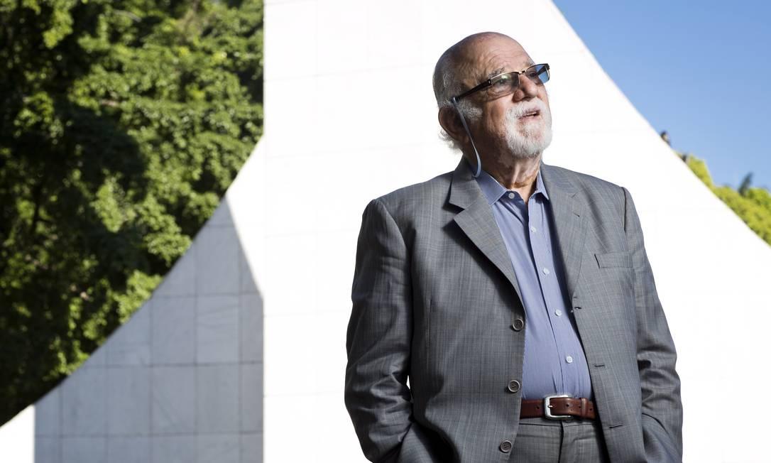 O sociólogo Danilo Santos de Miranda Foto: Guito Moreto / Agência O Globo
