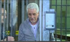 O ex-diretot de Marketing do Banco do Brasil, Henrique Pizzolato Foto: REPRODUÇÃO TV GLOBO