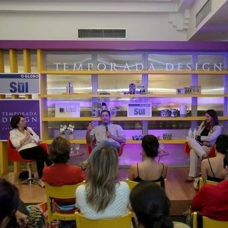 Tendências. Participantes no último encontro da Temporada Design Foto: divulgação / Eduardo Uzal
