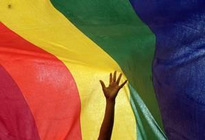 Exposição no Museu Histórico Alemão, em Berlim, acontece também no Museu Gay Foto: DIBYANGSHU SARKAR / AFP