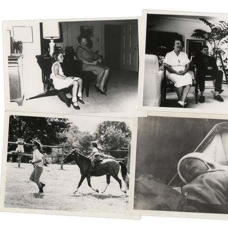 Fotos de JFK e sua família, nunca antes vistas, são leiloadas Foto: Reprodução/Nate D. Sanders Auctions