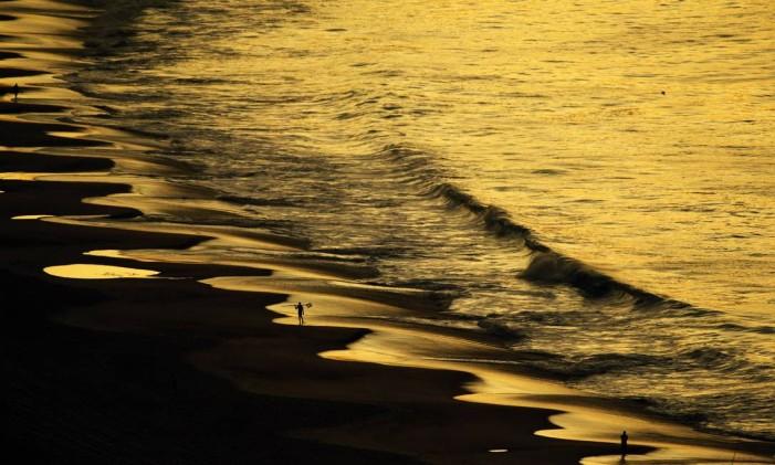 A Praia de Copacabana Foto: Thiago Lontra / O Globo