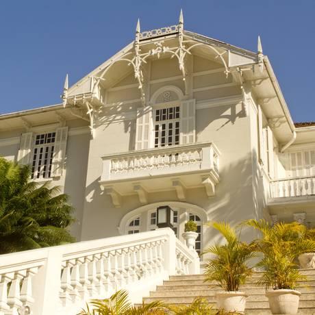 Localizada no caminho para o Corcovado, a Maison Paineiras, construída em 1920, foi cenário de novelas, minisséries e peças publicitárias Foto: Arquivo O Globo / Bia Guedes