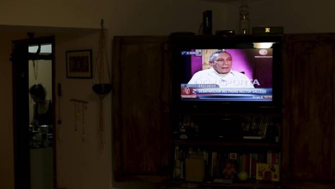 Noriega fala na TV panamenha Foto: CARLOS JASSO / REUTERS
