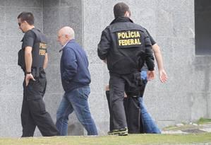 Após ser preso, Alexandrino Alencar pediu demissão da Odebrecht para fazer sua defesa Foto: RAFAEL ARBEX/ESTADÃO CONTEÚDO/19-6-2015