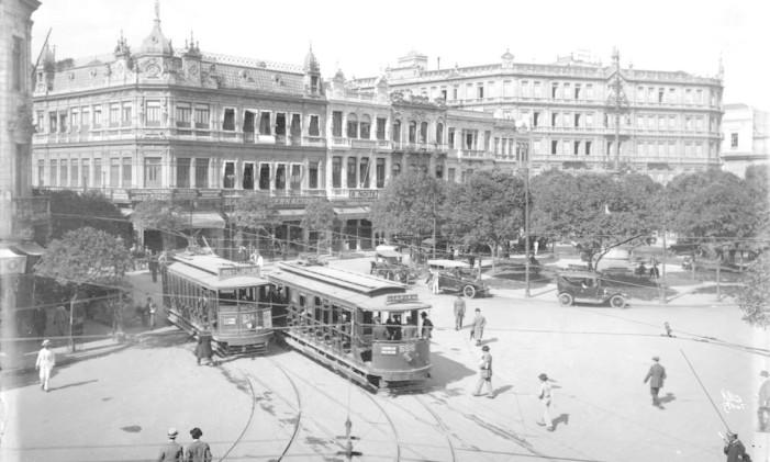 O Rio foi a primeira cidade da América do Sul a ter um sistema de transporte sobre trilhos Foto: Divulgação Light