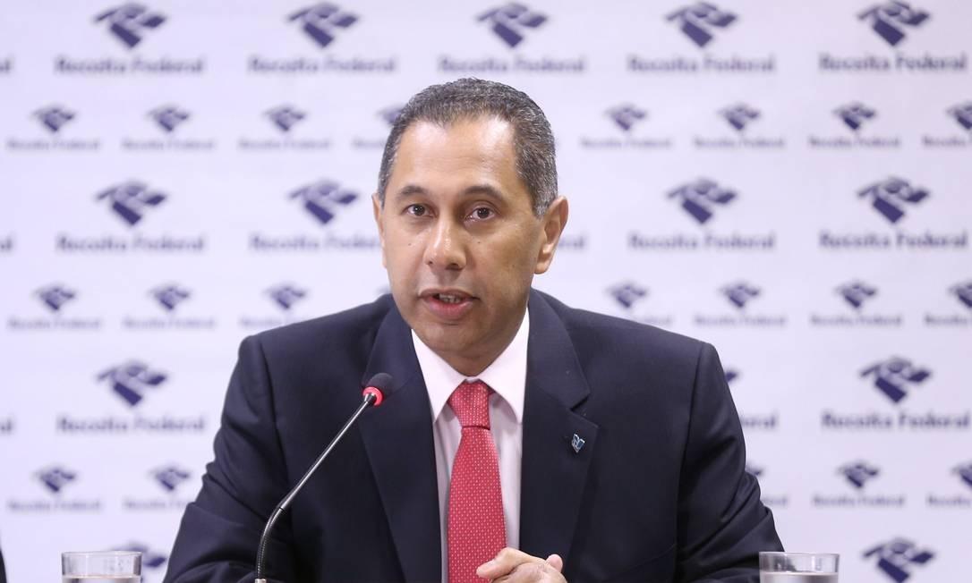 Claudemir Malaquias, chefe do Centro de Estudos Tributários e Aduaneiros da Receita Foto: Andre Coelho / O Globo