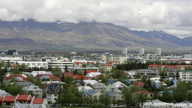 Vista da capital da Islândia, Reykjavík Foto: Kirsty Wigglesworth / AP