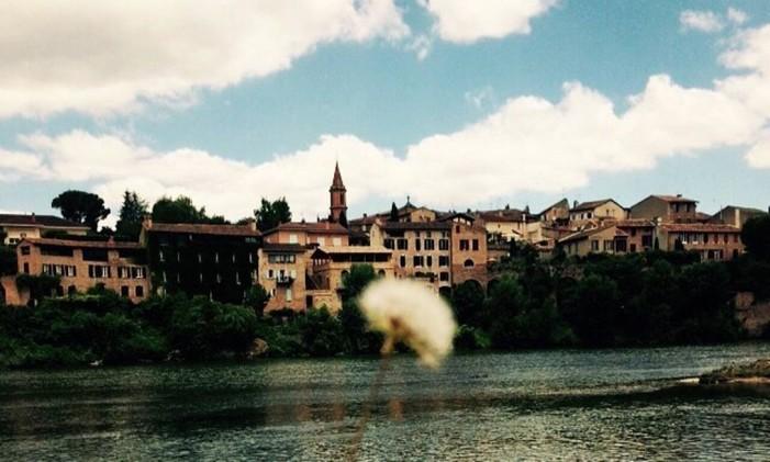 Albi, na França Foto: @brunowendler / Instagram