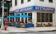 O Tom's Restaurant, na W 112 St com a Broadway