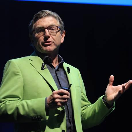 O diretor global de marketing da Unilever, Keith Weed, em apresentação no Cannes Lions Foto: SORAYA URSINE / SORAYA URSINE/ESTADÃO CONTEÚDO